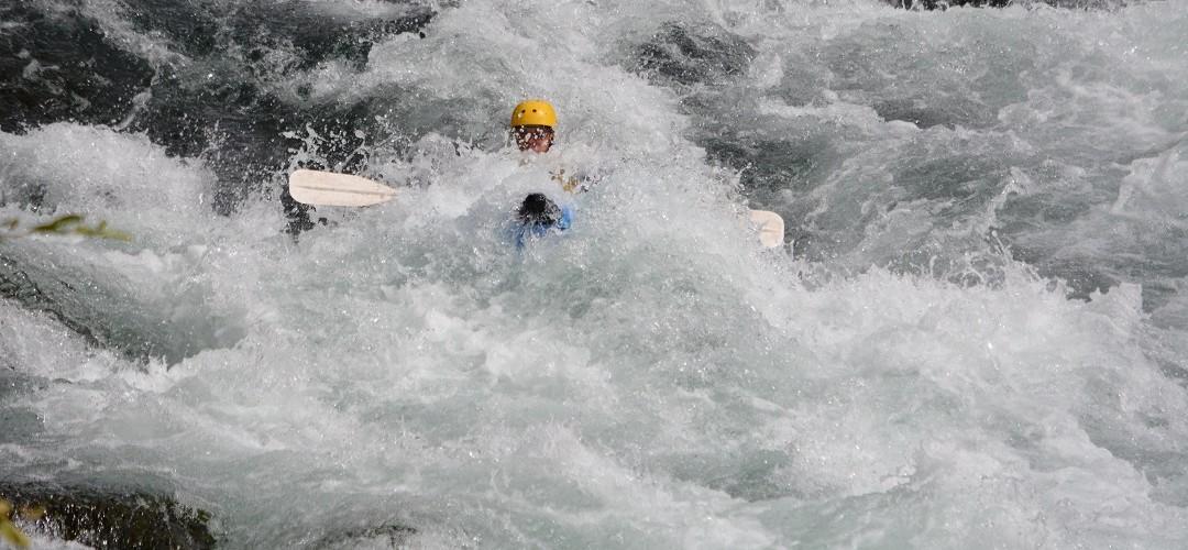 Inflatable Kayaking
